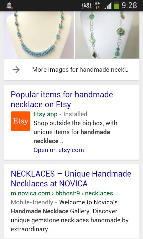 תוצאות חיפוש לביטוי Handmade Necklaces