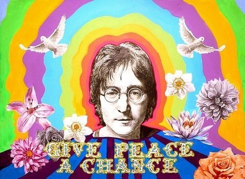 """Just replace """"Peace"""" with """"Keyword"""", and that's us. We're exactly like John Lennon."""